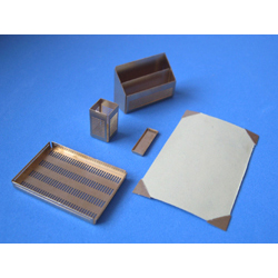 5 Piece Desk Set wth Cream Blotting Paper